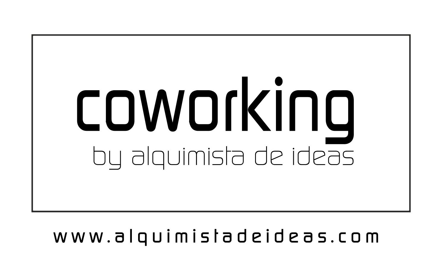 Logotipo coworking by Alquimista de Ideas
