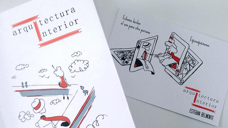 Motion Graphics del libro «Arquitectura Interior», de Esteban Belmonte