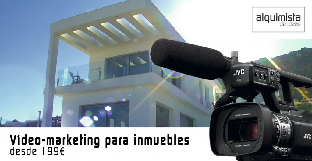Vídeo-marketing para inmuebles desde 199€