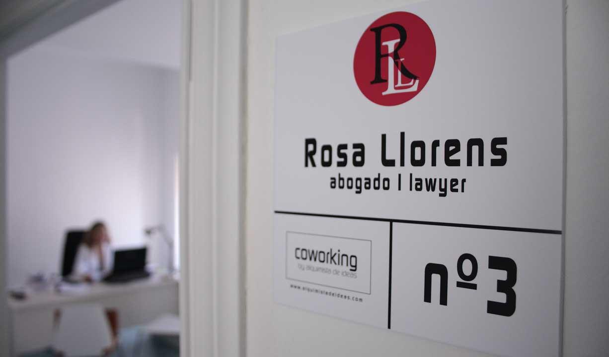 Os presentamos a una de las coworkers de Alquimista de ideas: Rosa Llorens, abogado