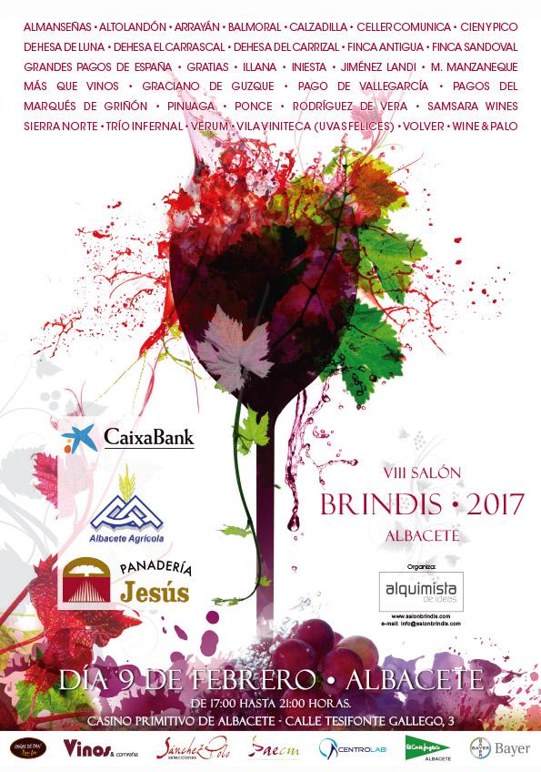 Consigue tu invitación para asistir al VIII Salón Brindis de Albacete